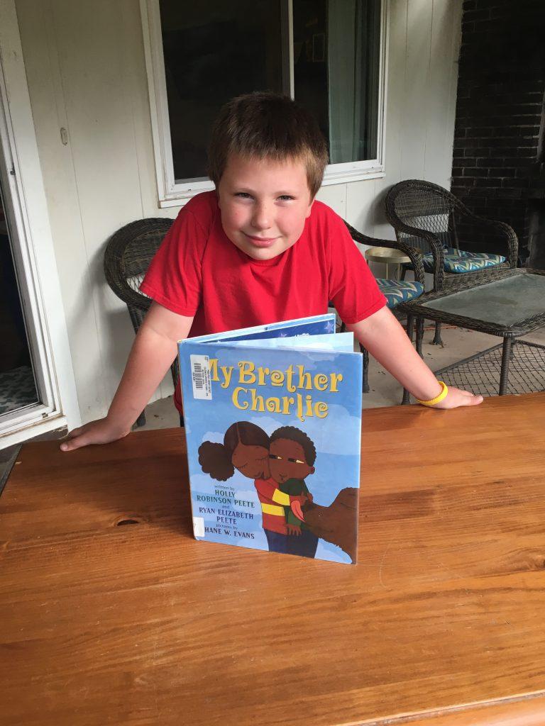 E and a book